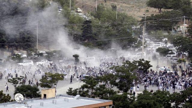 انفجار کابل