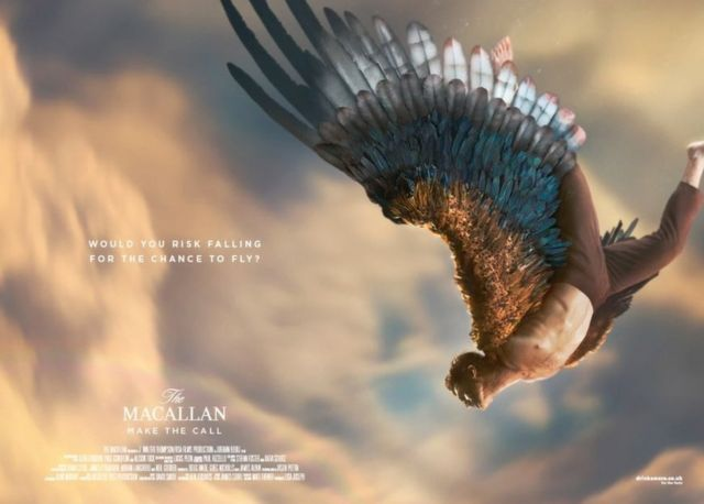 'Base jumping' Macallan whisky advert banned