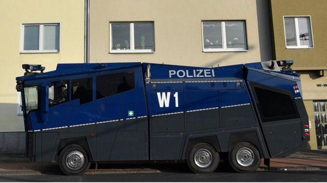 الشرطة الألمانية في حالة تأهب أثناء المظاهرات المؤيدة للأكراد في مدينة كولونيا