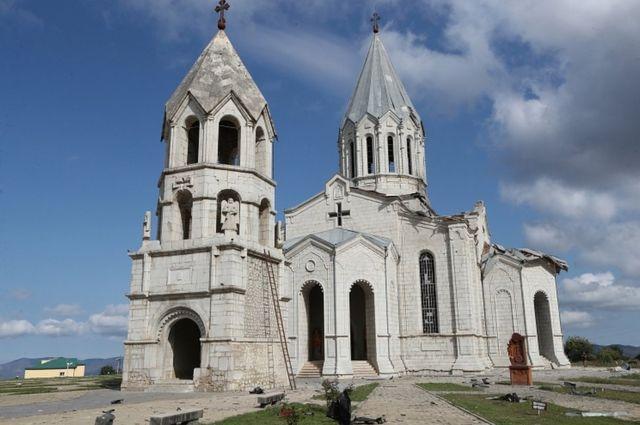 Церковь Казанчецоц в Шуше