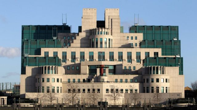Štab MI6 u centru Londona