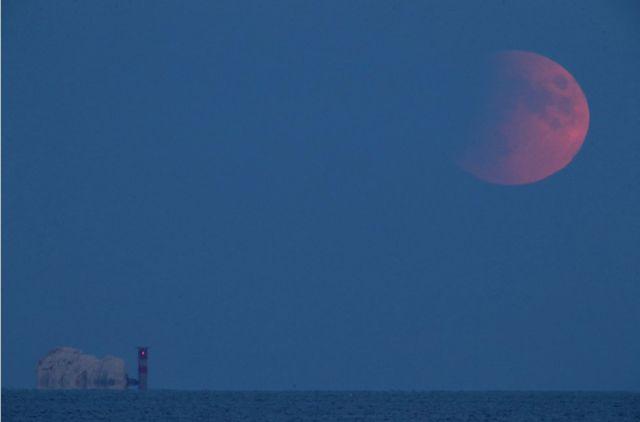 Apollo 11: Partial lunar eclipse on 50th anniversary