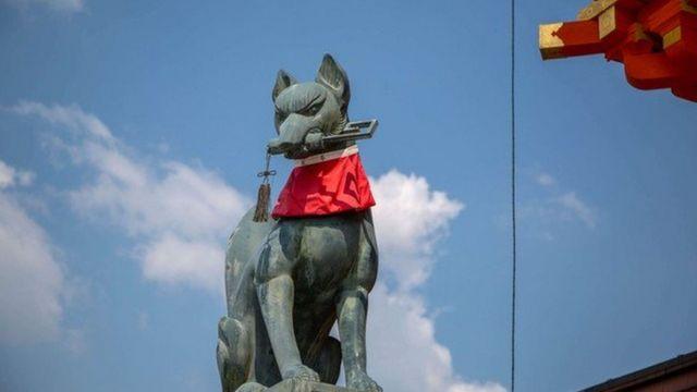 ویسے تو ایمابی عفریت اور بلا بھی ہو سکتی ہے لیکن لوک داستانوں والی یہ مخلوق آج جاپان بھر میں پسند کی جاتی ہے۔
