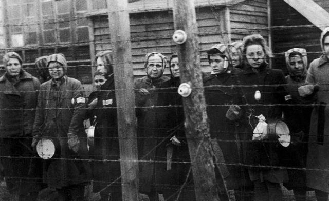 Равенсбрюк в день освобождения, 30 марта 1945 года