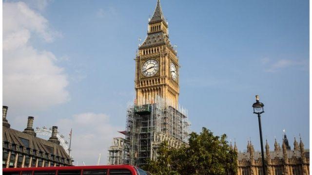 Годинник Біг-Бен на вежі Єлизавети