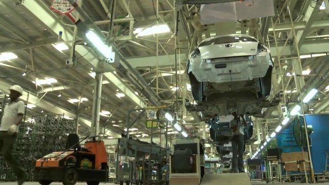 Car factory in Chennai