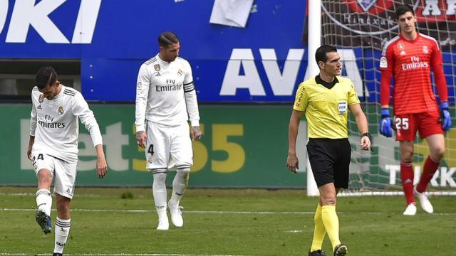 Eibar ta doke Madrid 3-0
