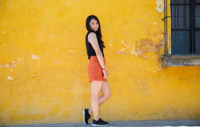 Chica en Guatemala