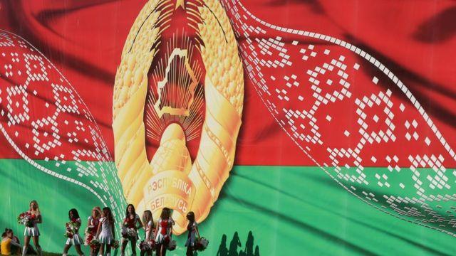 Флаг и герб республики Беларусь