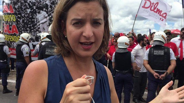 Julia Carneiro in Brasilia