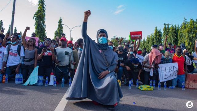 Nigeria police SARS Abuja , Lagos protest live updates