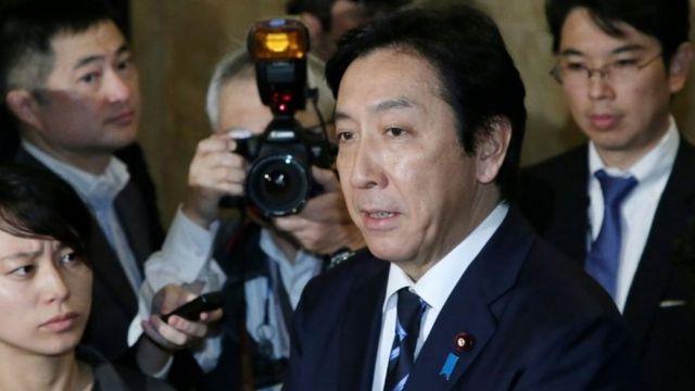일본 스기와라 경제산업상