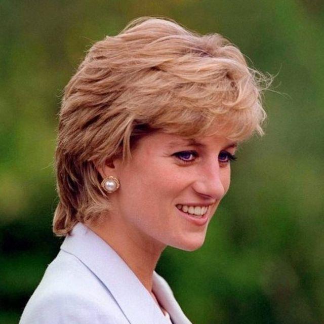 A princesa Diana