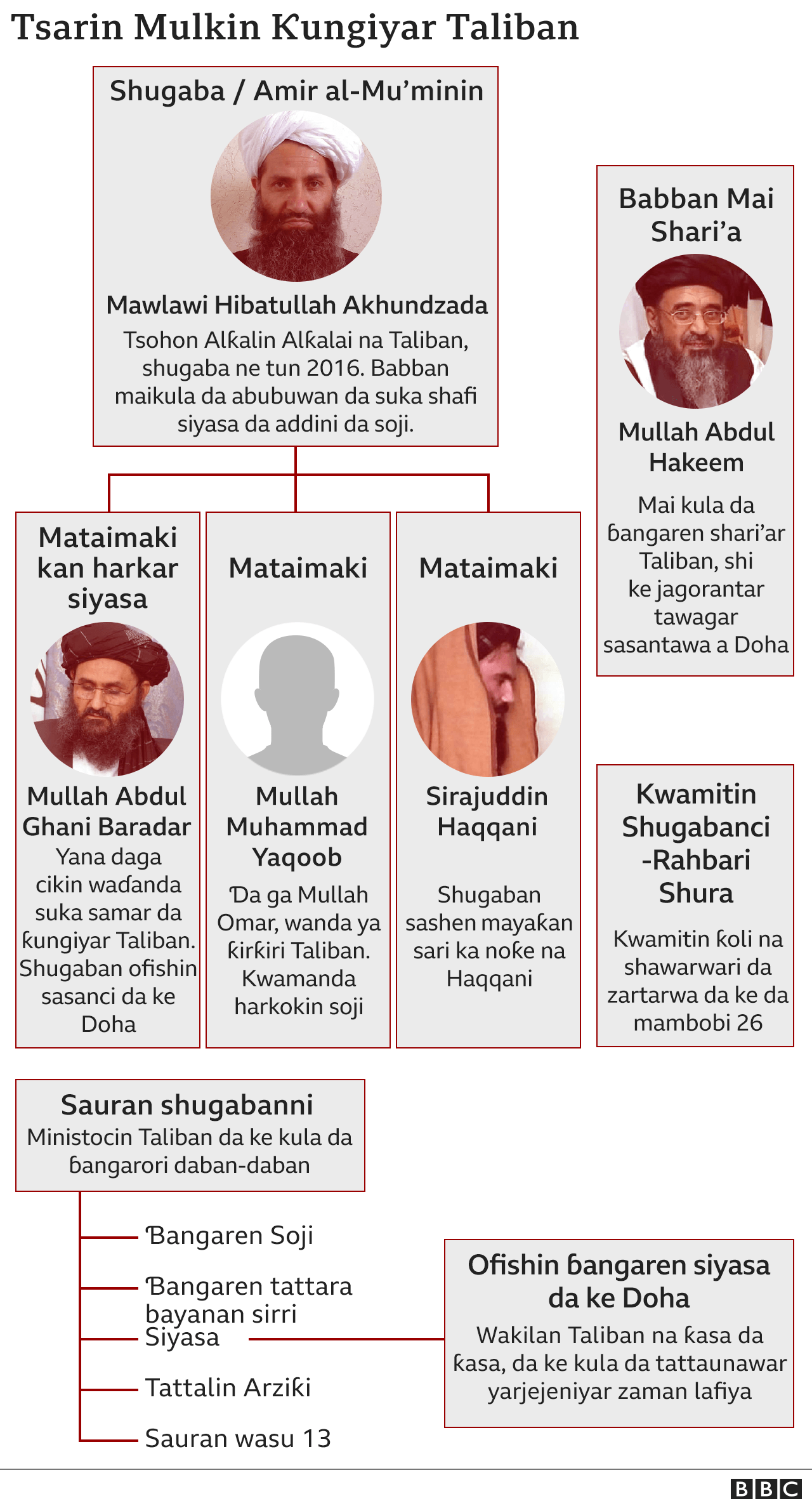 Taliban Structure