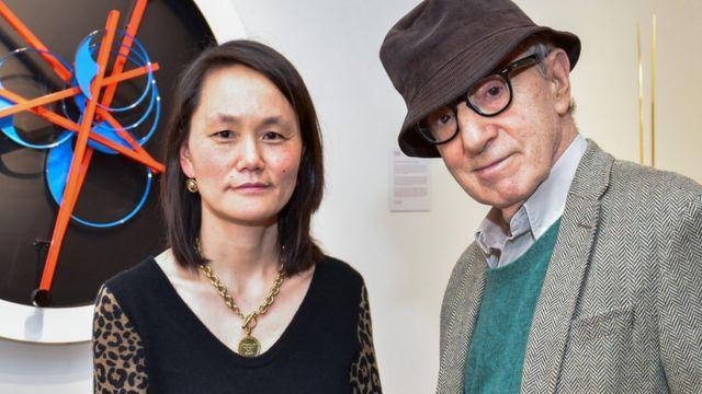 Soon-Yi y Woody Allen en 2018