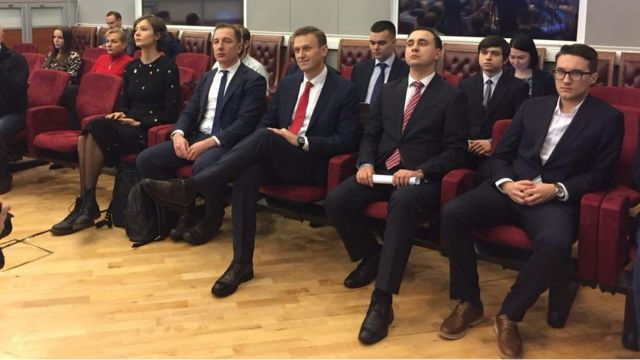 Навальный в ЦИКе