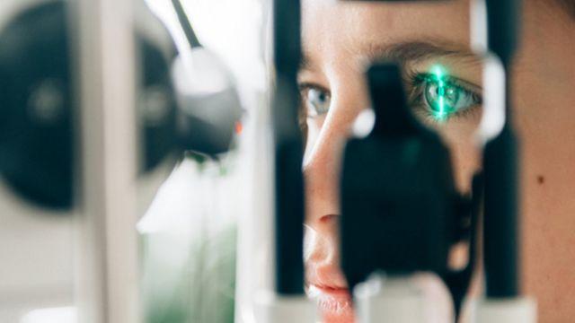 Exame oftalmológico