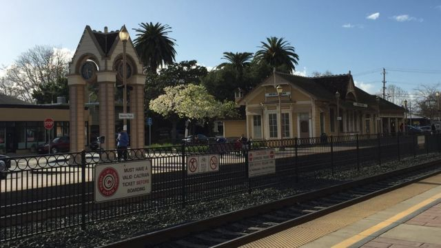 Estación de Menlo Park, California
