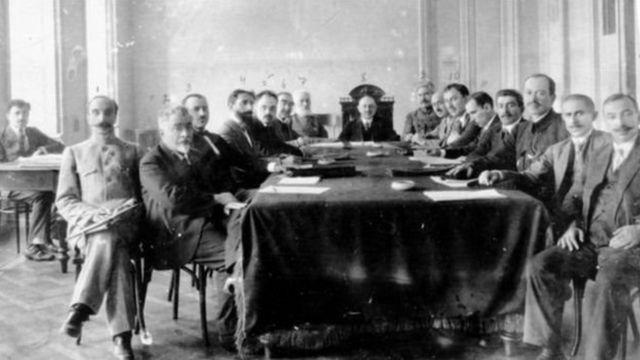 Arxiv: 1919-cu il, Azərbaycan Xalq Cümhuriyyəti Nazirlər Sovetinin iclası