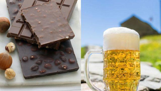Пиво та шоколад