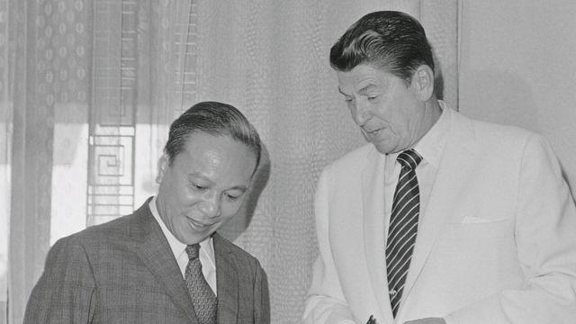Ronald Reagan, thăm Sài Gòn trong tư cách đặc sứ của Tổng thống Richard Nixon năm 1971
