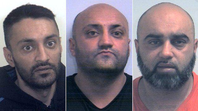 Arshid, Basharat & Bannaras Hussain