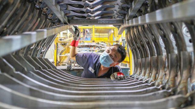 中国希望拥有更多高级技术工人。