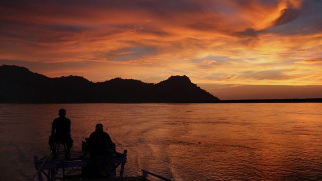 बह्मपुत्र नदी का फाइल फोटो