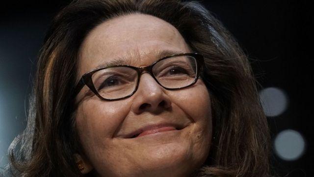 Gina Haspel, ante el Comité de Inteligencia del Senado de EE.UU.