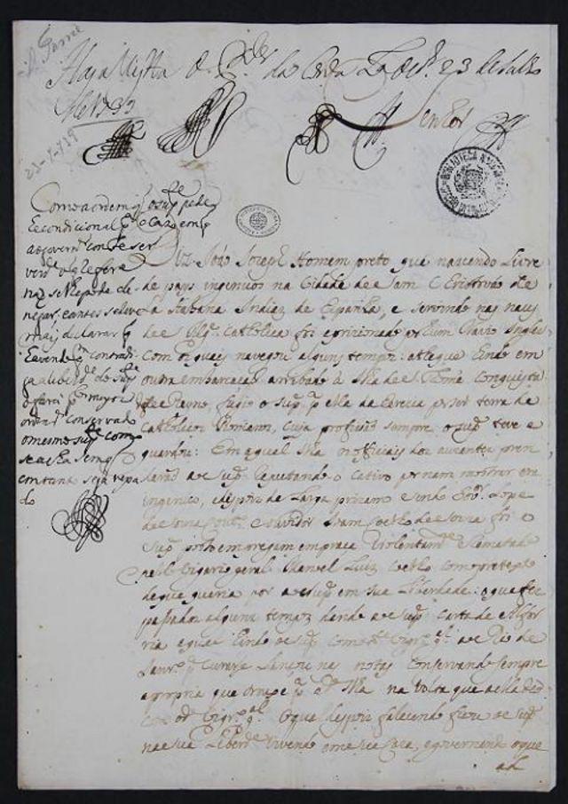 Documento do Arquivo Histórico Ultramarino de Portugal