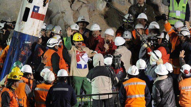 Resgate de Juan Illanes, no Chile