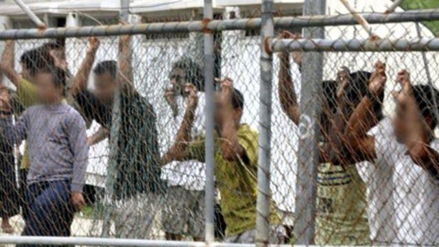 پناهجویان در اردوگاه