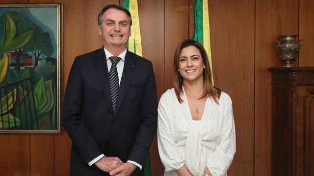 Jair Bolsonaro e Soraya Thronicke