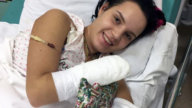 Margarita Gracheva in hospital