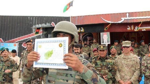 Gradução de soldados