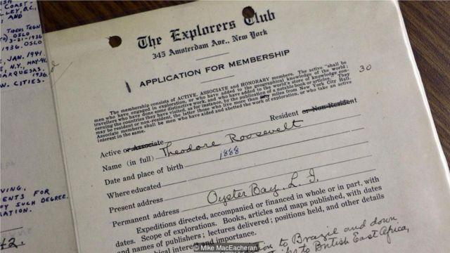 探险者俱乐部的成员包括阿姆斯特朗、希拉里和罗斯福(Theodore Roosevelt)。