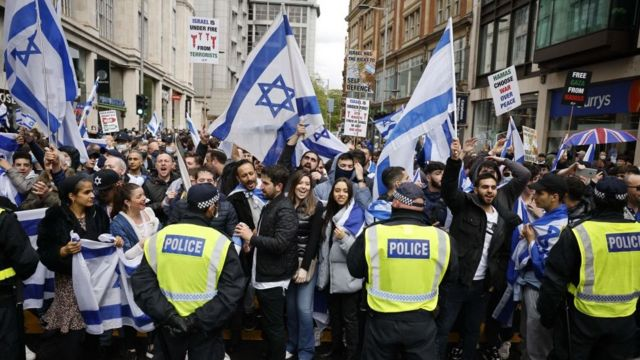 марш в поддрежку израиля