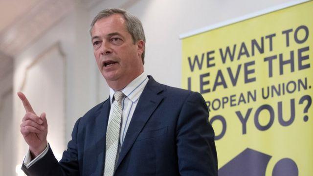 Nigel Farage, junio 4 de 2016