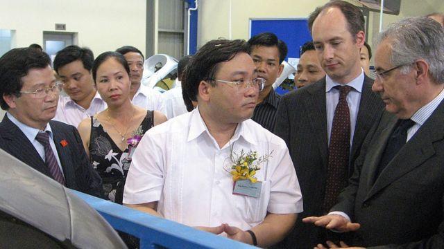 Ông Hoàng Trung Hải có kinh nghiệm lâu năm về công nghiệp ở Việt Nam