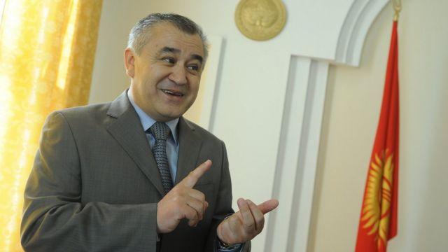 Омурбек Текебаев