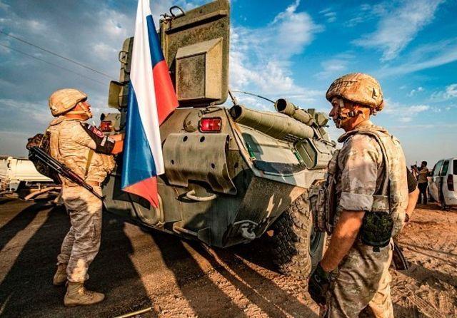 ارتش روسیه در سوریه