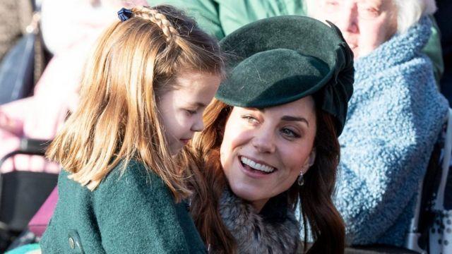 Кейт с дочерью