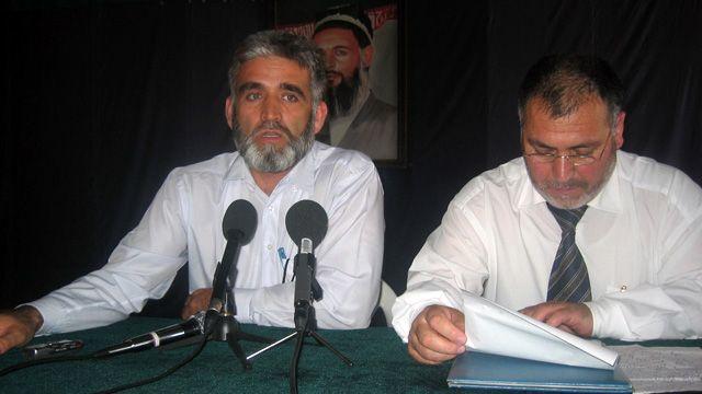 رهبران حزب نهضت اسلامی تاجیکستان