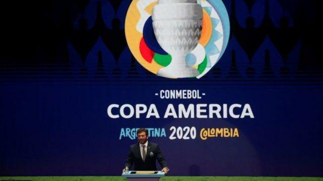 Presidente da Conmebol, Alejandro Domínguez