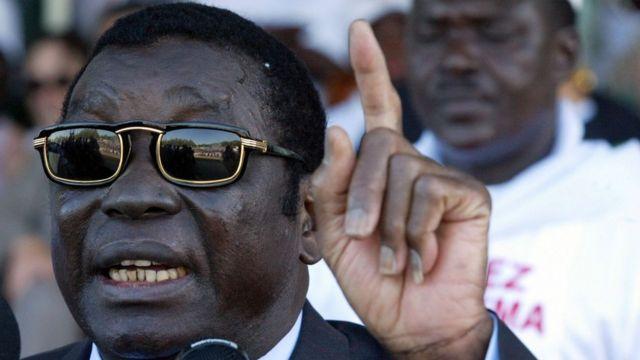 Togo former leader Eyadema Gnassingbe