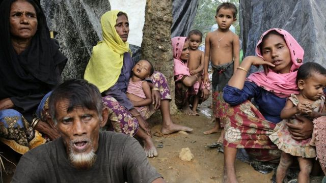 Aba Rohingya ibihumbi amajana nibo bamaze guhungira mu gihugu kibanyi ca Bangladesh
