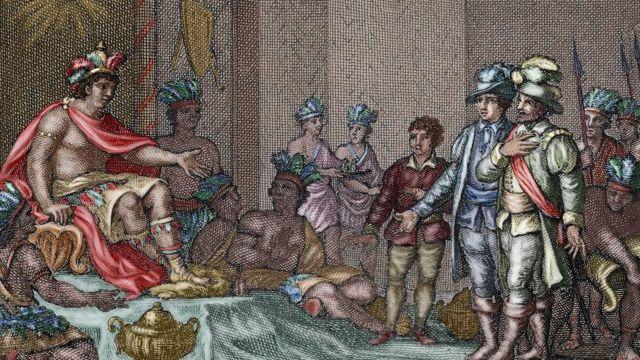 La rendición de Atahualpa