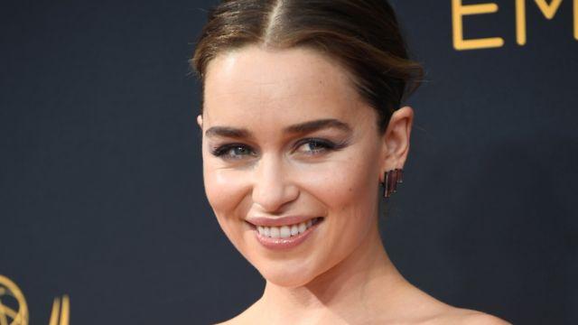 """Emilia Clarke es una de las protagonistas de """"Game of Thrones""""."""