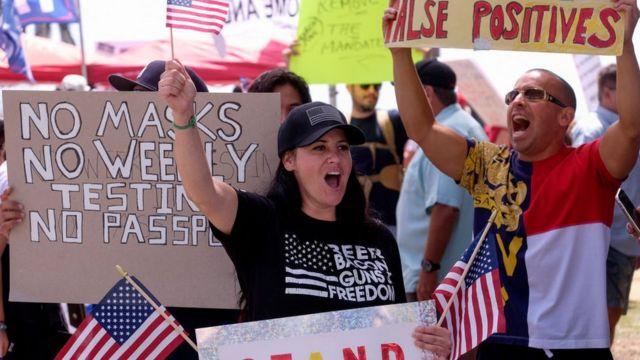 California protests