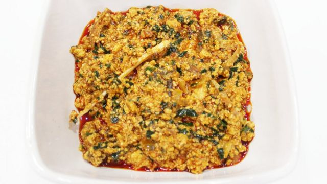 How To Prepare Egusi Soup Bbc News Pidgin